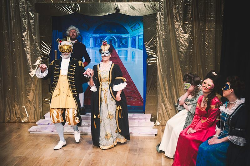 my first panto with bath drama a compass rose