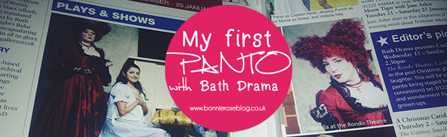First Panto with Bath Drama