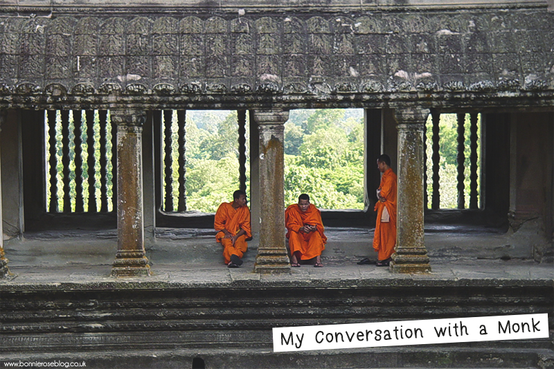My conversation with a Monk in Cambodia